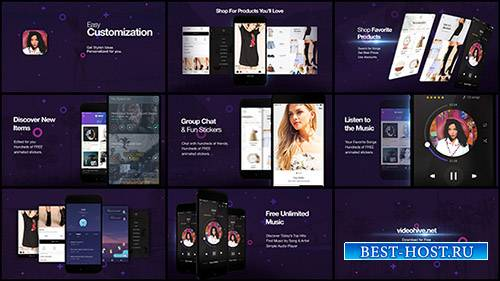 Cosmo l App Promo Kit - Project for After Effects (Videohive)