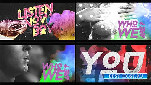 Мы открыли Grunge - Project for After Effects (Videohive)