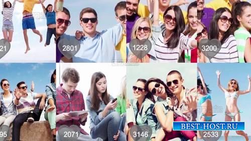 Проект социальных медиа - шаблоны After Effects