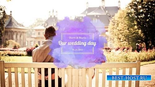 Акварельный свадебный пакет - Шаблоны After Effects