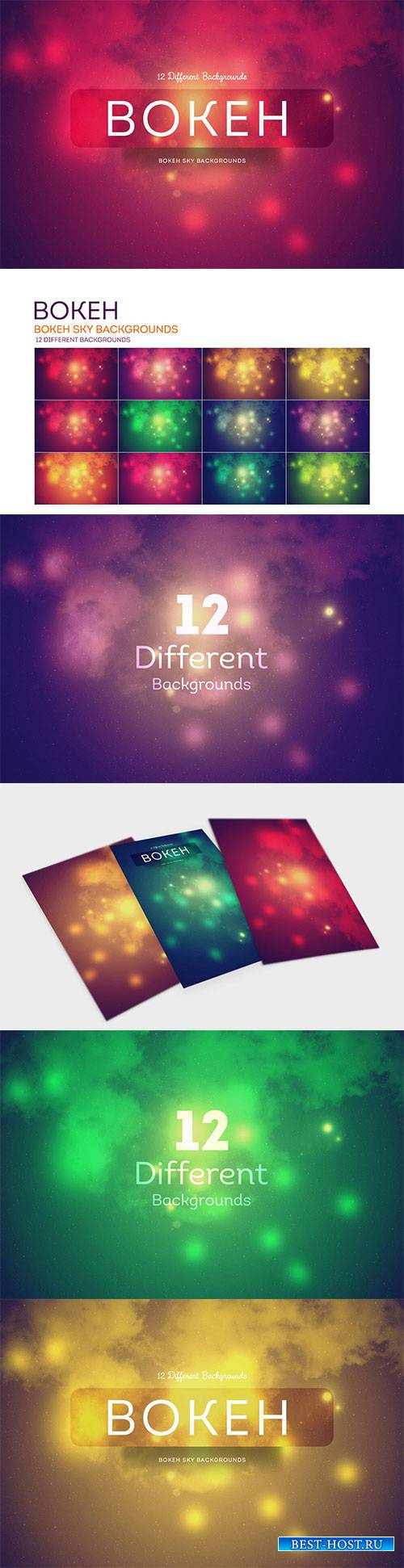 Bokeh SKY Backgrounds