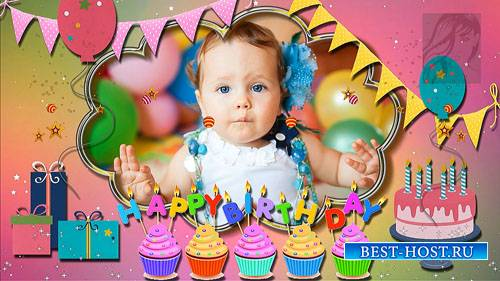 Детские стили с днем рождения для ProShow Producer - часть 3