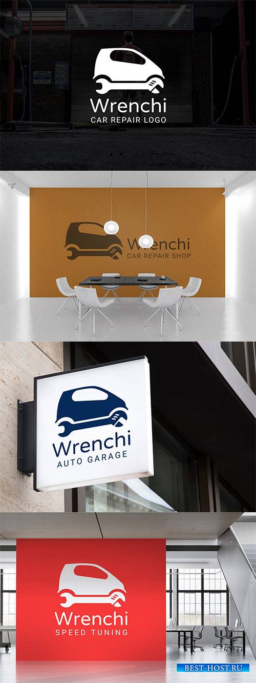 Wrench : Car Repair & Auto Repair Logo #2