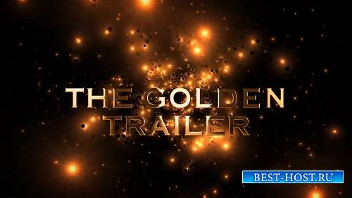 Золотой трейлер - Шаблоны After Effects