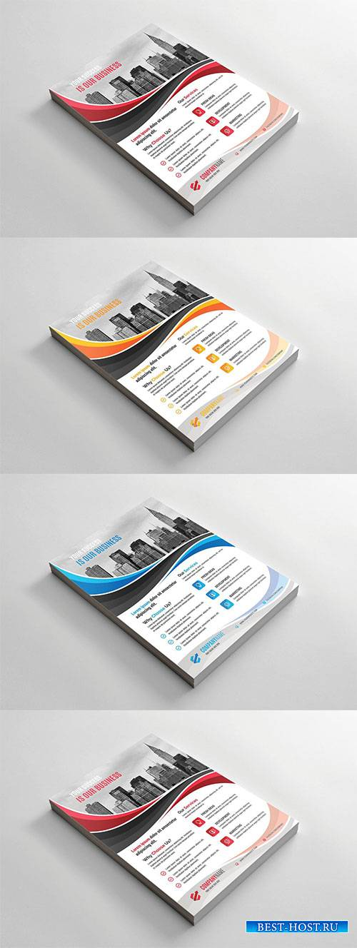 Corporate Vector Flyer #7