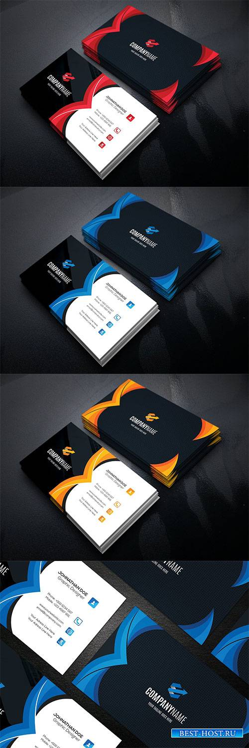 Business Vector Card #5