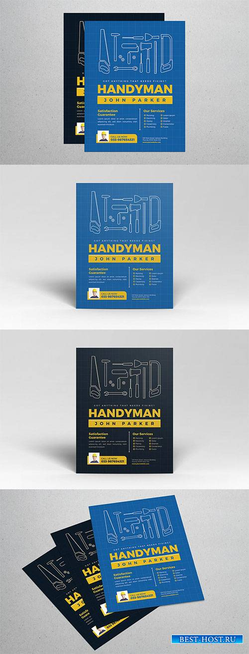 Handyman Vector Flyer