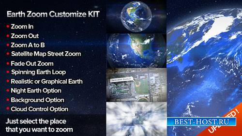 Настроить Kit Zoom 4 - Project for After Effects (Videohive)