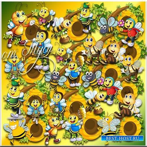 Пчёлки - Клипарт