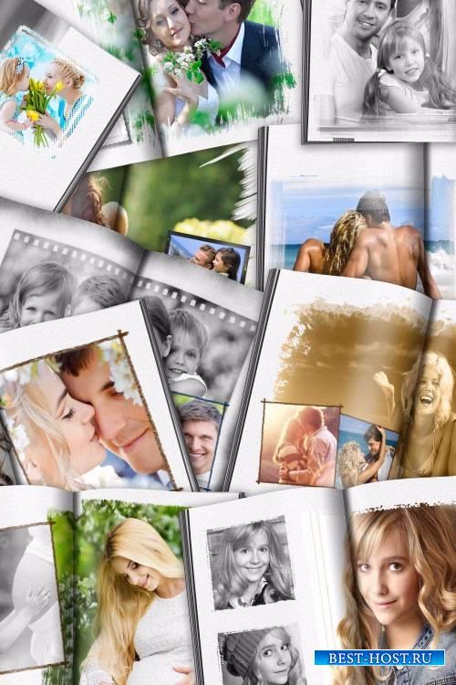 Фотокнига про фотографий – Нарисую автор этих строк портрет