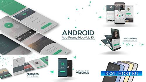 Android-приложение Promo Mock-Up Kit - Project for After Effects (Videohive)