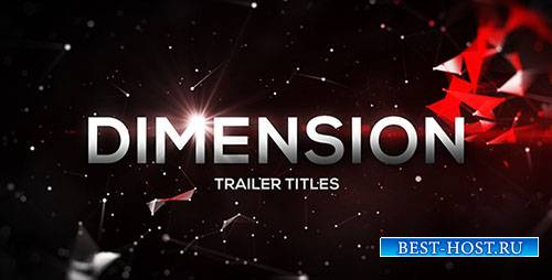 Размер трейлера Титулы - Project for After Effects (Videohive)
