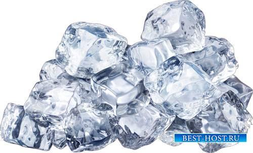 Востребованная коллекция - Лед, капли и вода в формате png