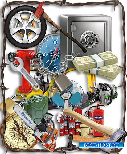Png на прозрачном фоне - Инструменты и предметы быта