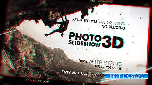 Фото слайд-шоу 3D - Project for After Effects (Videohive)