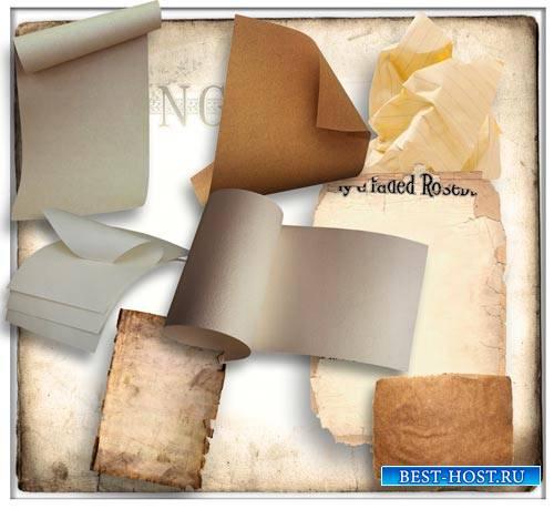 Png для фотошоп - Старинная бумага