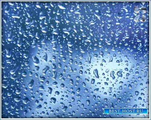 Клипарты на прозрачном фоне - Капельки