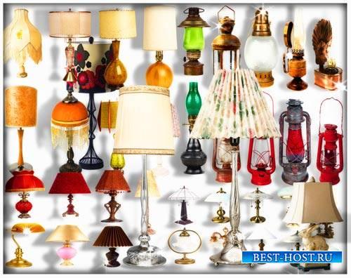 Png на прозрачном фоне - Лампы настенные и настольные