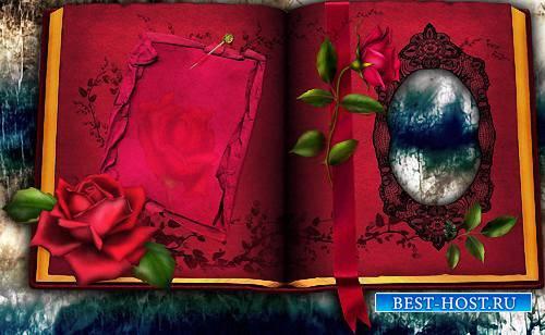Красивая рамочка - В красной книге