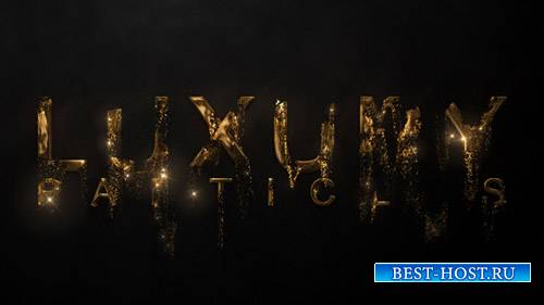 Логотип Luxury Particle - Project for After Effects (Videohive)