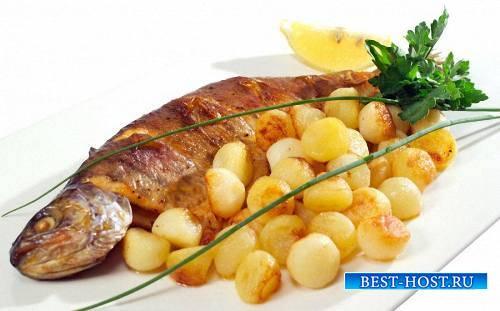 Фотошоп png - Рыбные блюда