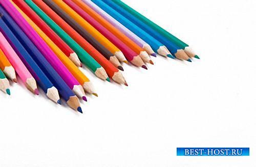 Png на прозрачном фоне - Цветные и простые карандаши