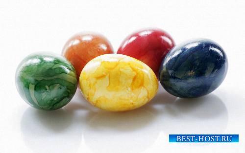 Клипарты на прозрачном фоне - Необычно красивые яйца