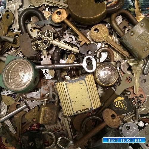 Png для клипартов - Замки и ключи