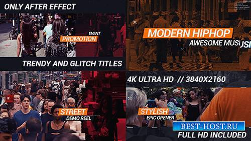 HipHop Urban открывалка - Project for After Effects (Videohive)