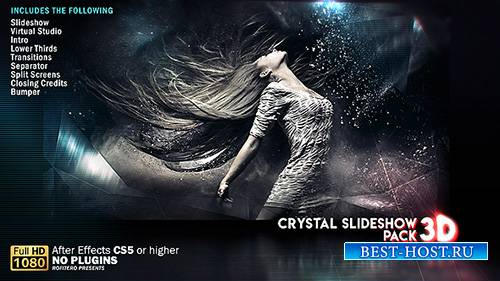 Кристалл Слайд-шоу Пакет 3D - Project for After Effects (Videohive)