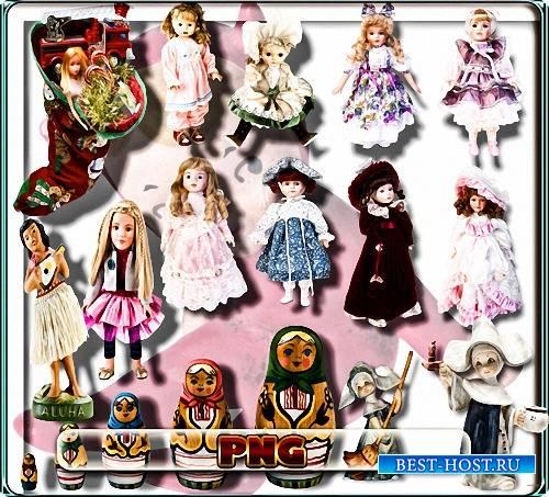 Png картинки - Куклы и матрешки