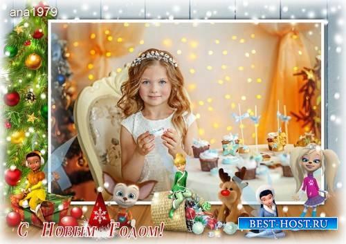 Рамка для фотошопа – Праздник волшебства
