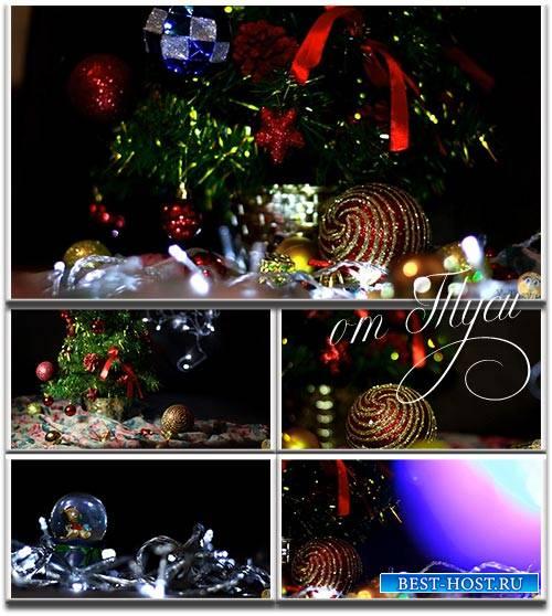 Новогодние футажи - 4 / Christmas Footage - 4