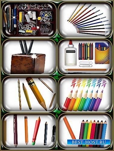 Png для фотошопа - Цветные и простые карандаши