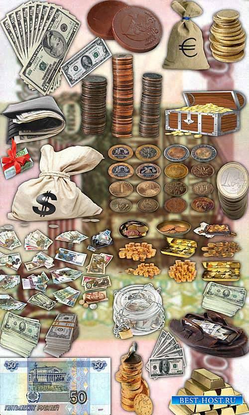 Новые клипарты Png - Деньги стран мира
