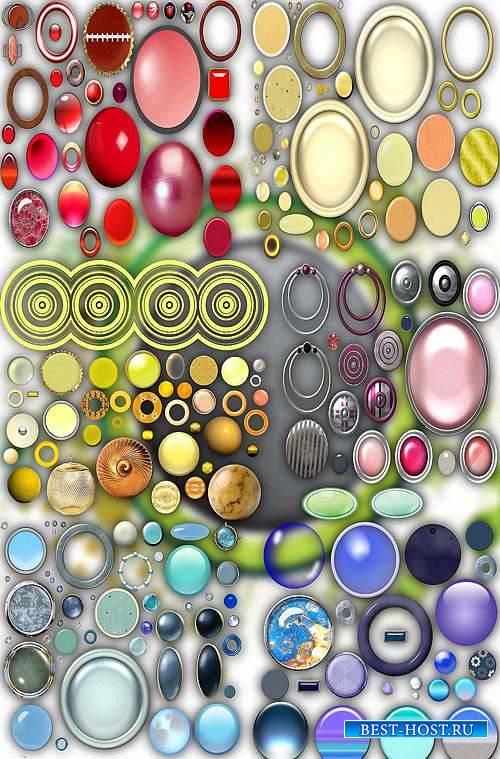 Новые клипарты Png - Разноцветные круги