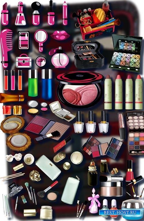 Коллекция Png клип-артов - Женская косметика