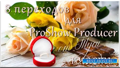 8 переходов для ProShow Producer  - 1 часть