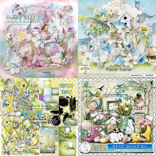 Scrap set - Pastel Easter / Eggs'tra Cute Easter / Easter Day / Spring Fes ...