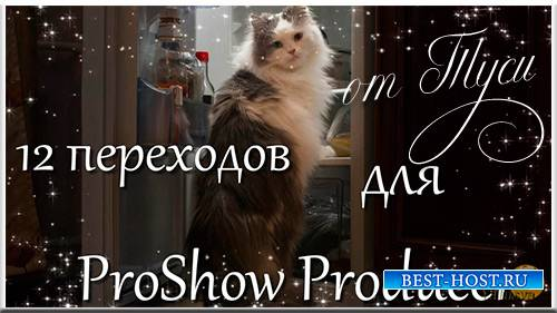 12 переходов для ProShow Producer - Звёзды / 12 transitions for ProShow Producer - Stars