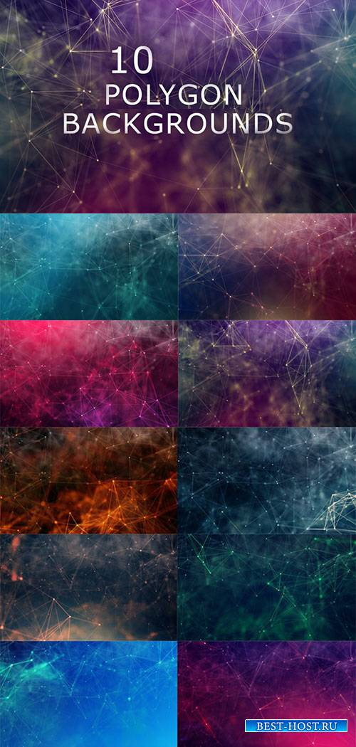10 Polygon Backgrounds