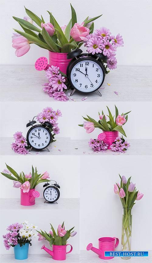 Цветочные композиции - Клипарт / Flower Arrangement - Clipart