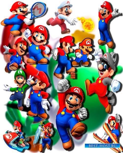 Фотошоп Png клип-арты - Супер Марио