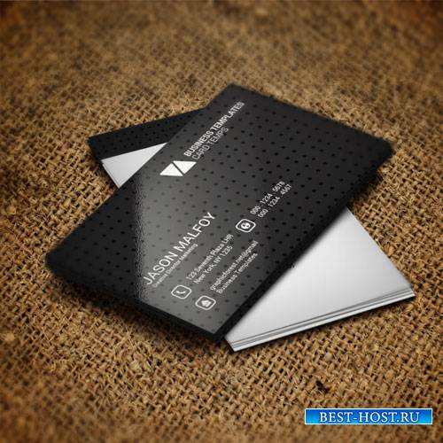 Black creative - business card