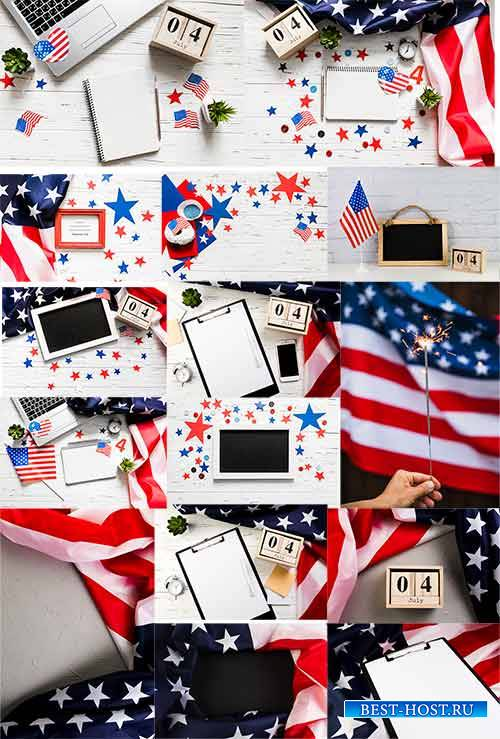 День независимости США - Фоны / US Independence Day - Backgrounds