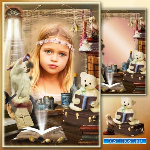 Рамка для фото - Старый волшебный чердак