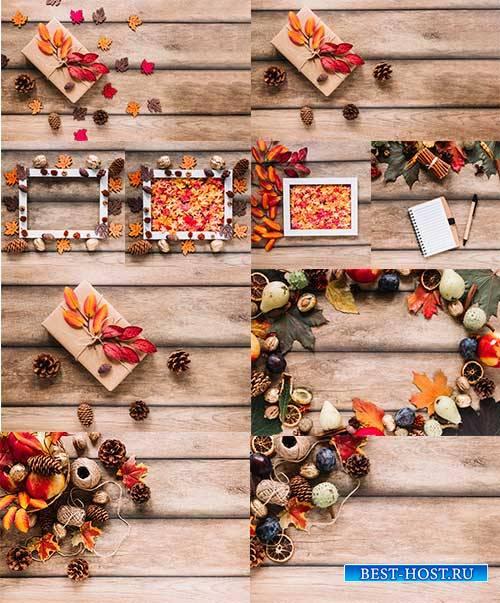 Краски осени -3 - Растровый клипарт / Autumn colors - 3 - Raster clipart