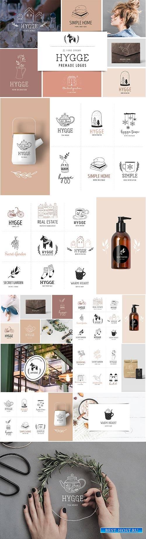 CM - Hygge - premade logo collection 2933007