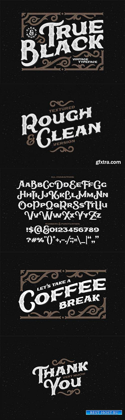 CM - True Black Typeface 2466985