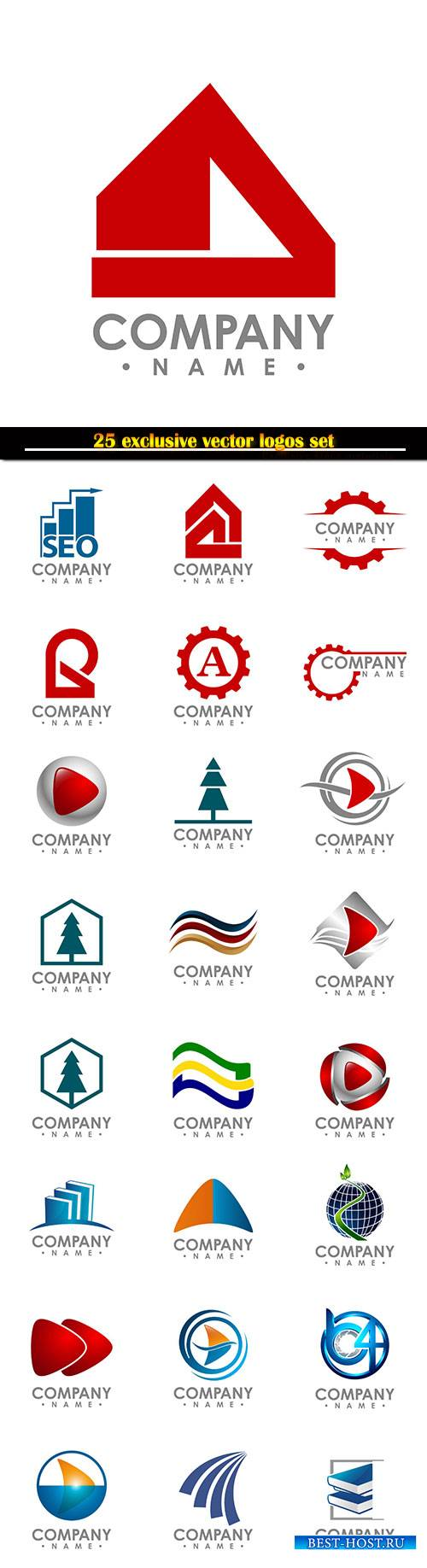 Logo business vector illustration template # 117